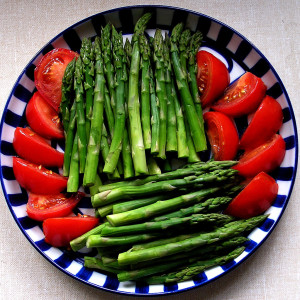 šparglji zdrava prehrana